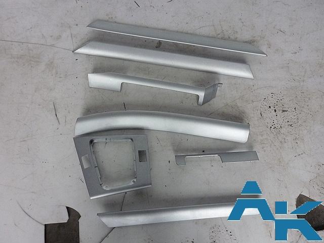 Bmw e46 interieurleisten dekorleisten interieur silber ebay for Interieur bmw e46